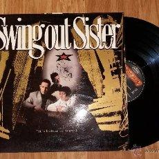 Discos de vinilo: SWING OUT SISTER: IT'S BETTER TO TRAVEL - LP VINILO. Lote 51110071