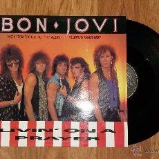 Discos de vinilo: BON JOVI: LIVIN' ON A PRAYER - MAXISINGLE VINILO. Lote 51110182