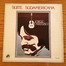 Discos de vinilo: JORGE CARDOSO - SUITE SUDAMERICANA - VINILO - LP - MÚSICA. Lote 51111899