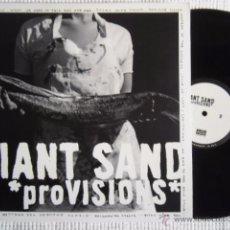Discos de vinilo: GIANT SAND - '' PROVISIONS '' 2 LP + LINK USA. Lote 51118310