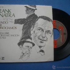 Discos de vinilo: FRANK SINATRA EL MUNDO QUE CONOCIAMOS+3 EP SPAIN 1967 PDELUXE. Lote 51120065