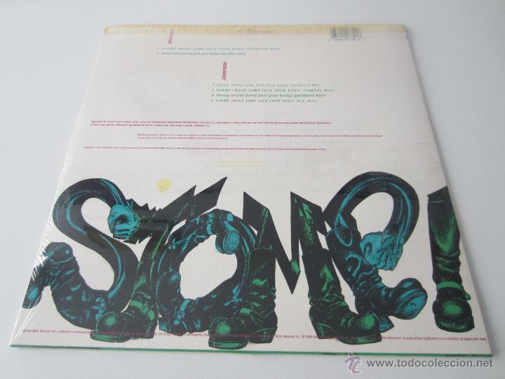Discos de vinilo: KYZE - STOMP (MOVE JUMP JACK YOUR BODY) (6 VERSIONES) 1989 USA MAXI SINGLE - Foto 2 - 51120076