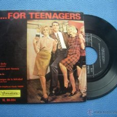 Discos de vinilo: FOR TEENAGERS.... HELLO DOLLY+3 EP SPAIN 1965 PDELUXE. Lote 51120097