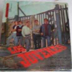 Discos de vinilo: LOS JOVENES - ADIOS MI AMOR + 3 EP 1965. Lote 51121393