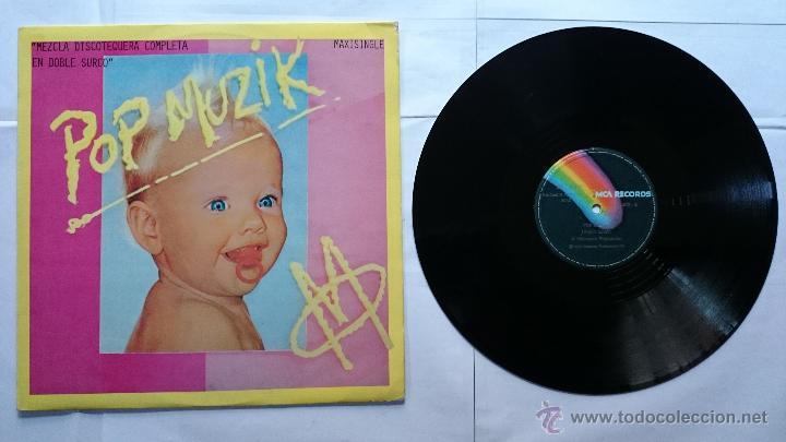 M - POP MUZIK / POP MUZIK-M FACTOR (MAXI 1979) (Música - Discos de Vinilo - Maxi Singles - Pop - Rock Extranjero de los 70)
