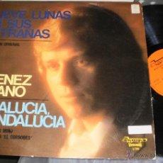 Discos de vinilo: JIMENEZ REJANO LP NUEVE LUNAS EN SUS ENTRAÑAS.ESPAÑA 1979. Lote 51124293