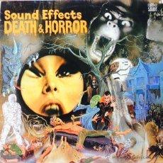 Discos de vinilo: MIKE HARDING - SOUND EFFECTS NO. 13 - DEATH & HORROR . LP . 1977 UK . Lote 51124827