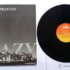 Discos de vinilo: MANHATTANS - CRAZY / CRAZY (INSTRUMENTAL) (MAXI PROMO 1983). Lote 51125874