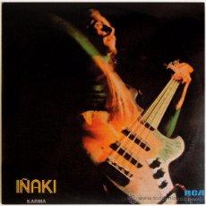 Discos de vinilo: IÑAKI (IÑAKI EGAÑA) - KARMA - LP PROMO SPAIN 1974 - RCA VICTOR SPL1-2097. Lote 51126001