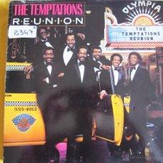 Discos de vinilo: LP - THE TEMPTATIONS - REUNION (SPAIN, MOTOWN RECORDS 1982). Lote 51126280