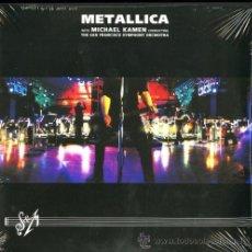 Discos de vinilo: METALLICA WITH MICHAEL KAMEN & THE SAN FRANCISCO SYMPHONY ORCHESTRA - '' S & M '' 3 LP SEALED. Lote 51126407
