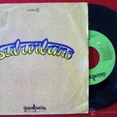 Discos de vinilo: SUBURBANO, BAILANDO BAJO LA MESA (GUMBARDA 1979) SINGLE PROMOCIONAL. Lote 51126822