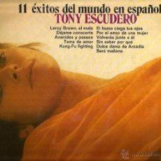 Discos de vinilo: LP TONY ESCUDERO ( TEMAS EN ESPAÑOL DE JIM CROCE, PAUL ANKA, BARRY WHITE, DEMIS ROUSSOS, ETC. Lote 51126954
