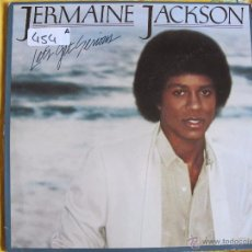 Discos de vinilo: LP - JERMAINE JACKSON - LET'S GET SERIOUS (SPAIN, MOTOWN RECORDS 1980). Lote 51127269