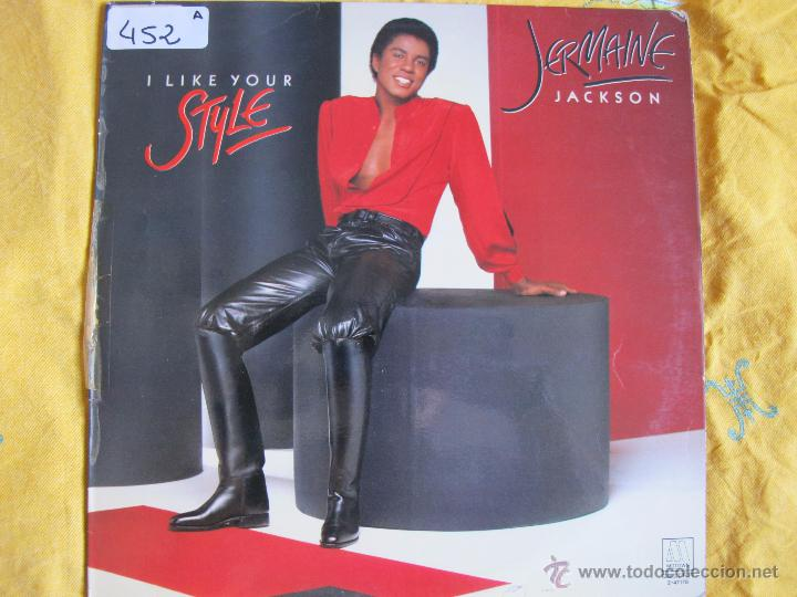 LP - JERMAINE JACKSON - I LIKE YOUR SMILE (SPAIN, MOTOWN RECORDS 1982) (Música - Discos - LP Vinilo - Funk, Soul y Black Music)