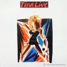 Discos de vinilo: TINA TURNER - NUTBUSH CITY LIMITS (LIVE) . MAXI SINGLE . 1988 EUROPE. Lote 51128576