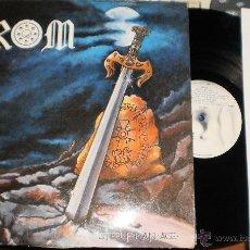 Discos de vinilo: CROM LP STEEL FOR AN AGE.ESPAÑA 1987.EN MUY BUEN ESTADO.CON ENCARTE. Lote 51129990