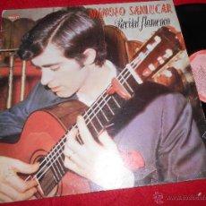 Disques de vinyle: MANOLO SANLUCAR RECITAL FLAMENCO LP 1987 DIAMANTE FLAMENCO GUITARRA GUITAR. Lote 51131945