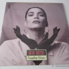 Discos de vinilo: KATHY TROCCOLI - EVERYTHING CHANGES (5 VERSIONES) 1992 USA MAXI SINGLE. Lote 51134399