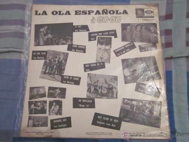 Discos de vinilo: LA OLA ESPAÑOLA A GO-GO - LP - MONOFONICO - ED.COLOMBIANA - MUSTANG,LONE STAR,GELU,BRUNO LOMAS,ETC. - Foto 2 - 51136106