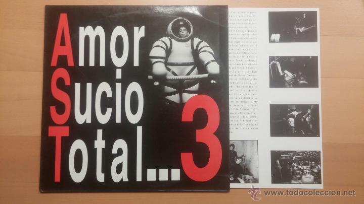 AMOR SUCIO - TOTAL...3 - LP (Música - Discos - LP Vinilo - Grupos Españoles de los 90 a la actualidad)