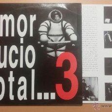 Discos de vinilo: AMOR SUCIO - TOTAL...3 - LP. Lote 103629222
