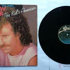 Discos de vinilo: MATTHEW WILDER - THE KID'S AMERICAN (2 VERSIONES) (MAXI 1983). Lote 51143111