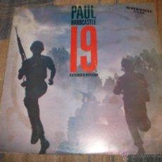 Discos de vinilo: PAUL HARDCASTLE - 19 EXTENDED VERSION. Lote 51144484