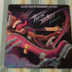 Discos de vinilo: LP BOOTSY'S RUBBER BAND - THIS BOOT IS MADE... / ORIG. WARNER USA 1979 / P-FUNK SOUL + COMIC!!!!. Lote 51146632
