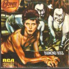 Discos de vinilo: SG DAVID BOWIE : DIAMOND DOGS . Lote 51148233