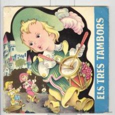 Discos de vinilo: ELS TRES TAMBORS AMB LLIBRET INTERIOR. PALOBAL 1966 . Lote 51151118