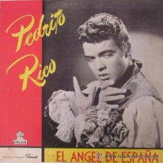 Discos de vinilo: PEDRITO RICO - EL ÁNGEL DE ESPAÑA - EDICIÓN CUBANA. Lote 51151375