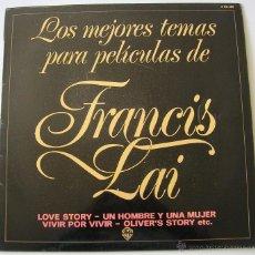 Discos de vinilo: FRANCIS LAI: LOS MEJORES TEMAS PARA PELICULAS. WEA 1981 SIN ESCUCHAR. Lote 51152759