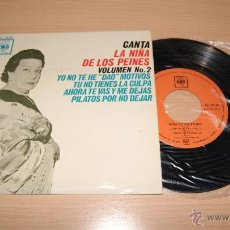 Discos de vinilo: LA NIÑA DE LOS PEINES - VOL. Nº 2 CBS . Lote 51153001