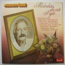 Disques de vinyle: JAMES LAST: MELODIAS DE ESTE SIGLO. POLYDOR 1982 SIN ESCUCHAR. Lote 51153065