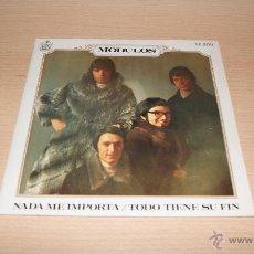 Discos de vinilo: MODULOS - NADA ME IMPORTA / TODO TIENE SU FIN. 1969 HISPAVOX H 550. Lote 51153113