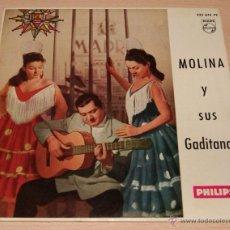 Discos de vinilo: MOLINA Y SUS GADITANAS EP SELLO PHILIPS AÑO 1962. Lote 51153453
