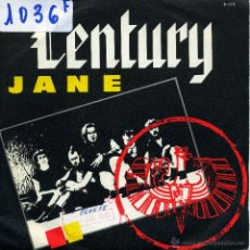 Discos de vinilo: CENTURY - JANE / HELP ME HELP (SINGLE PROMO ESPAÑOL DE 1986). Lote 51154014
