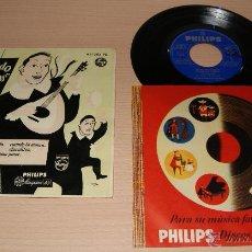 Discos de vinilo: CUANDO LOS TUNOS PASAN - ESTUDIANTINA DE MADRID - 1960 PHILIPS. Lote 51154258