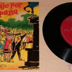 Discos de vinilo: AREVALILLO Y SU ORQUESTA -VIAJE POR ESPAÑA- SELLO TOREADOR 1960. Lote 51154632