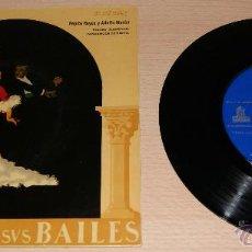 Discos de vinilo: ANDALUCIA Y SUS BAILES - ANOS 50. Lote 51154679