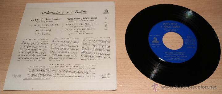 Discos de vinilo: Andalucia y sus bailes - Anos 50 - Foto 2 - 51154679
