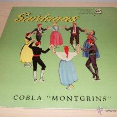 Discos de vinilo: SARDANAS - COBLA MONTGRINS - LP RCA 3L14005. Lote 51157428