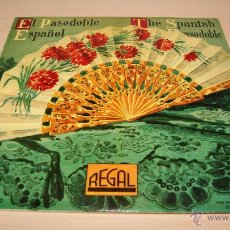 Discos de vinilo: EL PASODOBLE ESPAÑOL SELECCIÓN 1 - DISCOS DE 10 PULGADAS - 33LS1.025 - AÑO 1958 REGAL. Lote 51157653