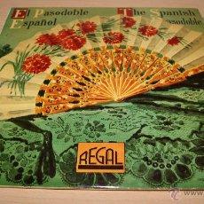 Discos de vinilo: EL PASODOBLE ESPAÑOL SELECCIÓN 2 - DISCOS DE 10 PULGADAS - 33LS1.025 - AÑO 1958 REGAL. Lote 51157678