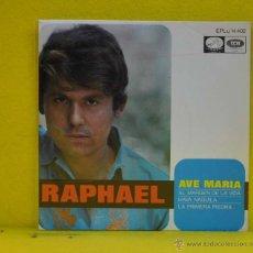 Discos de vinilo: RAPHAEL - AVE MARIA + 3 - EP. Lote 51158959