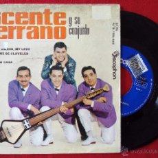 Discos de vinilo: VICENTE SERRANO Y SU CONJUNTO, AMOR MON AMOUR MY LOVE (DISCOPHON 1963) SINGLE EP, LA CASITA. Lote 51160548