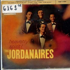 Discos de vinilo: THE JORDANAIRES (GRUPO DE ELVIS PRESLEY) / JOSHUA FIT THE BATTLE OF JERICO + 3 (EP 1959). Lote 51161530