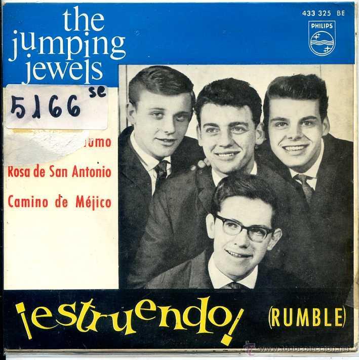 THE JUMPING JEWELS / RUMBLE / SEÑALES DE HUMO + 2 (EP 1964) (Música - Discos de Vinilo - EPs - Pop - Rock Extranjero de los 50 y 60)