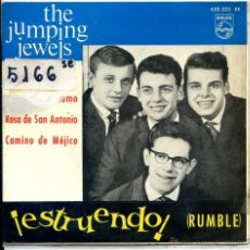 Discos de vinilo: THE JUMPING JEWELS / RUMBLE / SEÑALES DE HUMO + 2 (EP 1964). Lote 51161781